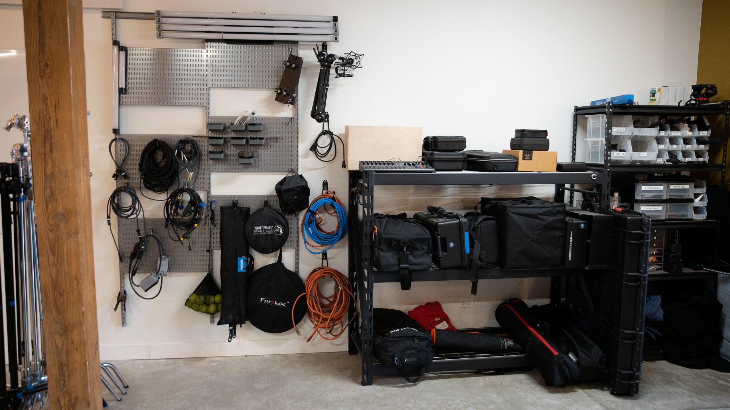 Studio Gear Section